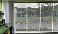 Transparent See-through Solar Films n Glass